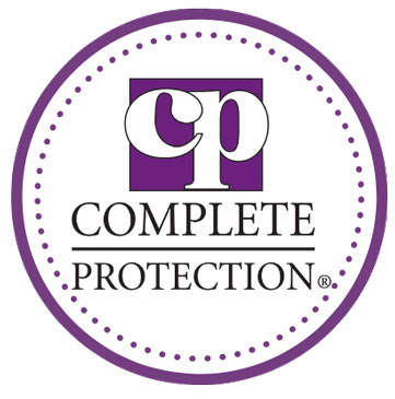 CP Complate protection badge